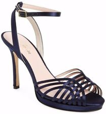 46a3bf706fa524 Kate Spade New York Farryn Ankle Strap Women s Heel Sandal Italy in Navy Size  10
