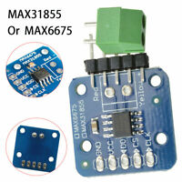 Neu MAX6675/MAX31855 K-Typ Thermocouple Temperatur Sensor Modul Für Arduino