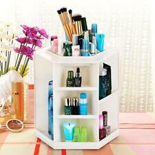 360 Degree Rotating Storage Box Case Makeup Organizer Cosmetics Display Spinning
