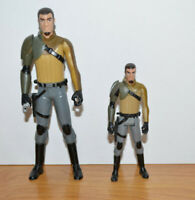 "STAR WARS REBELS KANAN JARRUS Action Figure Lot 3.75"" & 5.75"" Hasbro 2014"