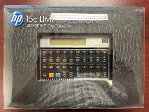 hp 15c Limited Edition scientific calculator - Never Used!!!