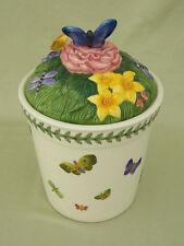 Portmeirion Botanical Garden Countertop Series Cookie Jar/Butterflies