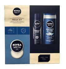 Nivea Men Fresh Collection Anti-Perspirant Shower Gel & Creme Gift Set