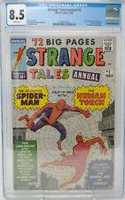 STRANGE TALES ANNUAL #2 ~ MARVEL 1963 ~ CGC 8.5 ~ 1ST SPIDER-MAN CROSSOVER