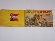 "1942-A GUIDE BOOK TO THE ""U.S. ARMY""53 ACTION PICTURES OF ITS MEN & EQUIPMENT"