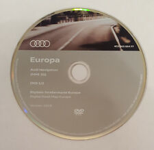 2018 AUDI MMI 2G HIGH SAT NAV DVD DISC MAP NAVIGATION UPDATE UK & EUROPE