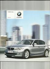 BMW 1 Serie comprese se, es e lo sport MODELLI LISTINO opuscolo aprile 2005