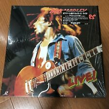 Bob Marley & The Wailers ~ Live!/ Japan LD Laserdisc/ Sheet