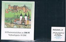 Bund MH 33,800 Jahre Heidelberg,ESST Berlin 18.7.1996