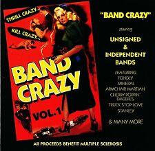VARIOUS ARTISTS, BAND CRAZY VOL.1., US CD (BZAR RECORDS 1996),INDI BANDS BENEFIT