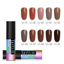 7-10PCS Colors Set Gel Nail Polish UV LED Soak Off Top Base Vanish Salon 5ML