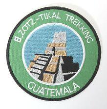 El Zotz Tikal Trekking Guatemala Patch Embroidered Iron on Badge Trek Souvenir