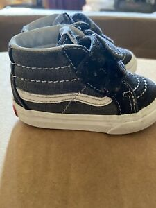 Toddlers Vans Size 4.0