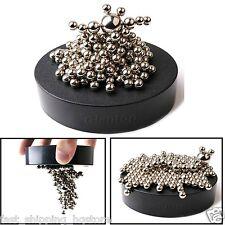 Magnetic Sculpture 160 Steel Balls1 Magnet Base Desk Toy Creative Stress Relief