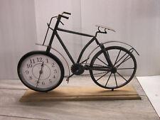 style NOSTALGIE / rétro horloge Mantel vélo im design-rétro métal  28 cm