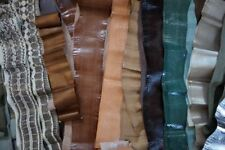 80 REAL Leather Snakeskin Hides Brand New