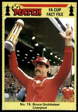 Match FA Cup Fact File 1986 - Bruce Grobbelaar (Liverpool) No. 15