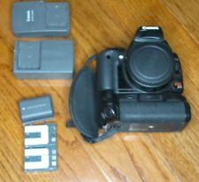 Canon Rebel XTi / EOS 400D SLR Camera + Grip, batteries, charger AS-IS FOR PARTS
