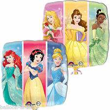 "18"" Disney Princess Dream Big Children's Party Square Foil Balloon"