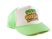 Sour Patch kids candy Trucker Hat mesh hat snapback hat neon green