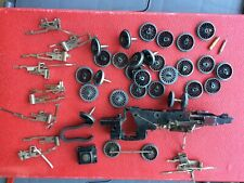 HORNBY DUBLO USED SPARES, WHEELS, CHASSIS, VALVE-GEAR.