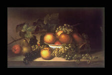 358002 Fruit James Peale A4 Photo Print
