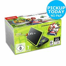 Nintendo 2DS XL Console with Mario Kart 7 - Black / Green 7+ Years