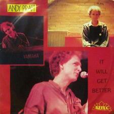 """Andy Pratt(7"""" Vinyl P/S)It Will Get Better-Aztec-006 20 0916-Netherlands-VG/VG"""