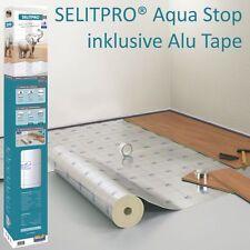 SELIT-PRO® Profi Dämm- Unterlage 2mm Aqua-Stop inkl. 1 Rolle Alutape - 8,5 m²