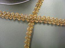 Metallic Gold  Gimp Braid - 10 metres (4710)