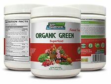 Green Tea Leaf - Organic Greens Powder Berry 9.7oz - Lower Blood Pressure 1C