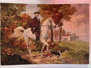 RARE PUZZLE FIRST IN THE HEARTS OF HIS COUNTRYMEN GEORGE WASHINGTON MOUNT VERNON