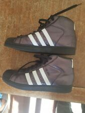 Adidas Pro Model Trainers Black and White size 7