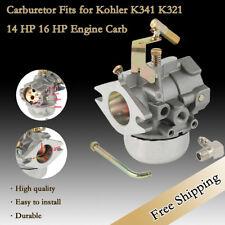 New Carburetor Fit For Kohler K341 & K321 Cast Iron Carb 14 16 HP Engine Replace
