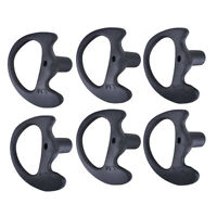 6x Two Way Radio Replacement Earpiece Insert for Acoustic Coil Tube Earbud