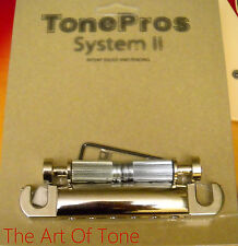 TonePros®  Locking Standard Stop Tailpiece - T1ZS-C Chrome
