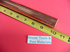 1 C110 Copper Round Rod 10 Long H04 Solid Cu New Lathe Bar Stock 100 Od