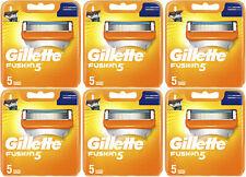 Gillette Fusion 5 Recharges de Lames de Rasoir x5