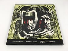WORKS OF SHAKESPEARE 3 X LP Boxset Macbeth  ARGO ZPR 201-3 Stereo Vinyl Classics