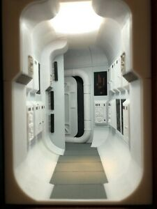 Science Fiction Book Nook. Bookshelf decoration. Designed by us! Exclusive!