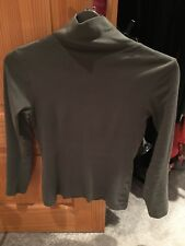 Peacocks Long Sleeved Khaki Top Size 10 Good Condition