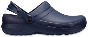 Crocs Specialist II Schuhe Arbeitsschuhe Clogs Sandale Rutschfest (Navy)