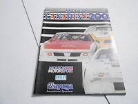 #MISC-2637 CAR RACING PROGRAM - 1985 MOLSON CANADIAN 200