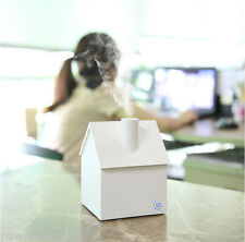 New Mini USB White Humidifier Fogger House Style Humidifier Diffuser Nebulizer
