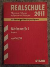 Realschule 2011 Mathematik 1 Bayern. Mit CD-ROM von Dietmar Steiner, Alois Einh…