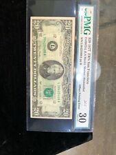 1977 $20 Frn Error Offset Printing Back To Front San Francisco Pmg30 Very Fine