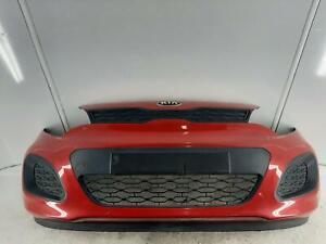 2013 KIA RIO 5 Door Hatchback Red Front Bumper