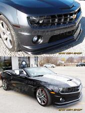 2010-13 BLACK PAINTED CHEVROLET CHEVY CAMARO 5 V8 ZL1 Type FRONT LIP SPOILER