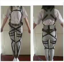 Attack On Titan Japanese Anime Shingeki No Kyojin Recon Corps Harness Belts
