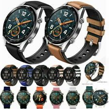 For Samsung Gear S3 Classic Galaxy Watch 46mm Strap Soft Leather Silicone Band